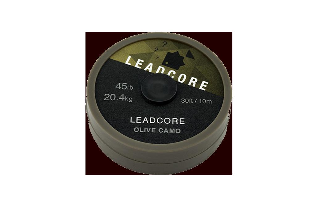 LEADCORE 45LB OLIVE CAMO 10M